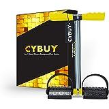 CYBUY Single Spring Pull Reducer Tummy Trimmer for Men & Women Home Gym Exercise Equipment (Black)