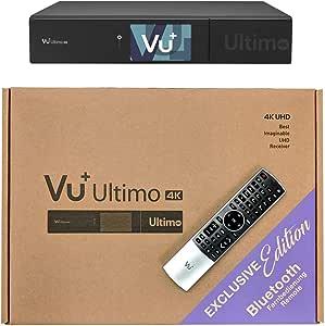 Vu Ultimo 4k Bt Edition 1x Dvb C Fbc Tuner Pvr Ready Linux Receiver Uhd 2160p Heimkino Tv Video