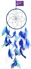 AsianHobbyCrafts Dream Catcher Wall Hanging : Size (LxB) 45x15 cm : ' Bloomingdale'