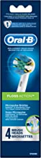 Oral B CrossAction Electric Toothbrush Replacement Heads - Pack of 4