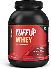 Tuff Up 100% Whey Protein - 1 kg (Chocolate)