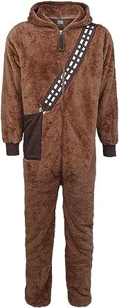 Star Wars Chewbacca Men Overall Brown, elastischer Bund Relaxed