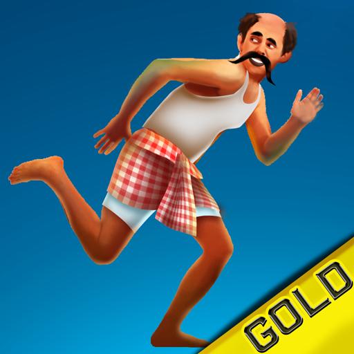 indian-mann-laufen-die-gefahrlichen-kokosnusse-baume-springen-quest-gold-edition