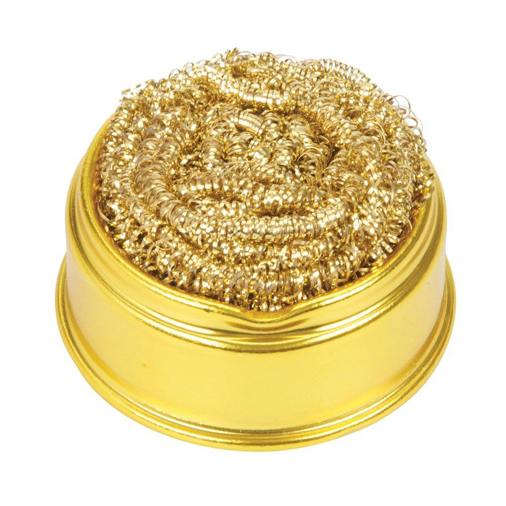 1X Refill Silverline Brass Wool Soldering Iron Tip  Ball /& Base Tip Cleaner