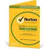 Norton Security Standard 2019  1 Device   1 Year   Antivirus Included   PC/Mac/iOS/Android   Activation Code by Post