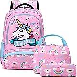 Mochila Unicornio Niños Impermeable Mochila Escolar para Adolescente Pequeñas Mochilas Infantil Bolso para Chicas para La Esc
