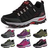 BOLOG Zapatos de Senderismo para Hombre Zapatos de High Cut Trekking Ocio al Aire Libre y Deportes Zapatillas de Running Trek