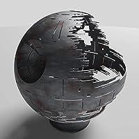 Death Star Firepit (Woodburning), Black Ceramic, 30