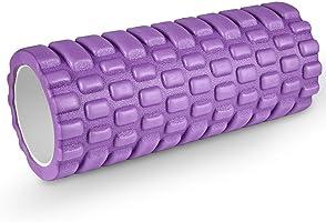 HiHiLL Foam Roller, Rullo di Schiuma, Profonda Tessuto Massaggio Muscolare, Terapia Trigger Point per Recupero...