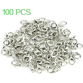 250 Binderinge 5mm Ösen Silber Metall Ring Verbinder Spaltringe SF21