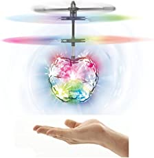 Magicwand® IR Remote Controlled Flying Disco Lights Ball with Remote