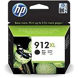HP 912XL Cartouche d'Encre Noire grande capacité Authentique (3YL84AE) pour HP OfficeJet Pro 8010 series / 8020 series
