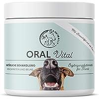 Annimally Zahnpflege Pulver für Hunde I 100g Mittel gegen Zahnstein Hund - Natürliche besonders effektive Zahnreinigung…