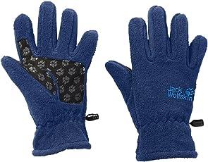 Jack Wolfskin Kinder Fleece Gloves Handschuhe, Marineblau