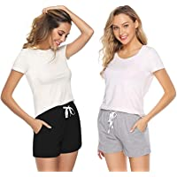 Cleesh Brand Women's Cotton Shorts | Women's Casualwear | (Pack of 2)