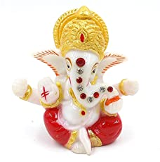 Celebration Gift Ganesh Statue for Car Dash Board (Assorted)