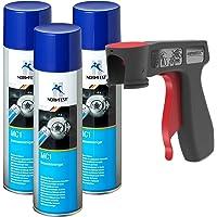 AUPROTEC Nettoyant de Freins Multicleaner MC-1 Purificateur Intense Transparent Spray 3X 500ml + 1x poignée Originale…
