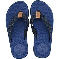 KuaiLu Tongs pour Hommes été Antidérapantes Plage Piscine Sandales Synthétiques Thongs Chaussures
