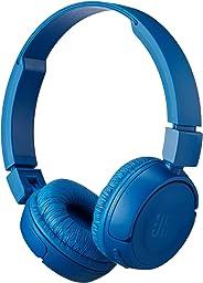 JBL Pure Bass Sound Bluetooth T450BT Wireless On-Ear Headphoens - Blue