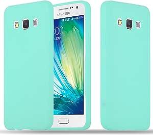 Cadorabo Hülle Für Samsung Galaxy A3 2015 In Candy Blau Elektronik