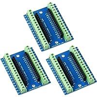 YXPCARS I/O Shield Erweiterungskarte Expansion Board Terminal Adapter für Arduino Nano