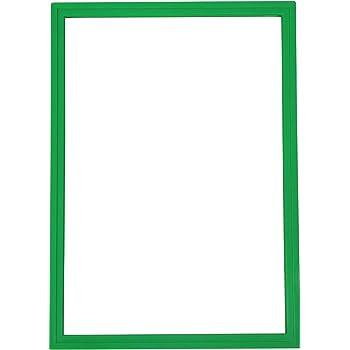 Plakatrahmen f/ür Laminate in DIN A4 Rot 1 St/ück