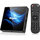 Bqeel Android 10.0 TV Box R2 MAX, 4GB RAM 64GB ROM / CPU RK3318 64bit /Dual WIFI 2.4/5G + 100M LAN, TV box android dolby/H.26