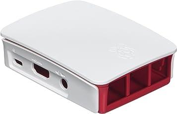 Offizielles Gehäuse für Raspberry Pi 3 (Himbeer/weiß)