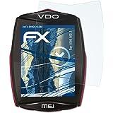 atFoliX Schutzfolie kompatibel mit VDO M6.1 Panzerfolie, ultraklare und stoßdämpfende FX Folie (3X)