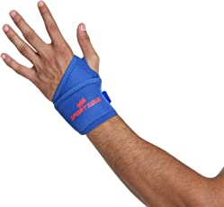 SportSoul Wrist Support with Thumb Wrap (Free Size)