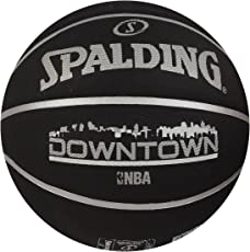 Spalding Downtown Basketball, Size 7 (Black)