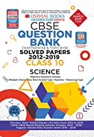 Oswaal CBSE Question Bank Class 10 Science Book Chapterwise & Topicwise Includes Objective Types & MCQ's (For March 2020...