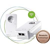 devolo Magic 1 – 1200 WiFi ac Starter Kit: 2 Powerline-Adapter, WLAN-Funktion, ideal für Home Office (1200 Mbit/s, 2x Fast-Ethernet LAN-Anschlüsse, Mesh, G.hn)