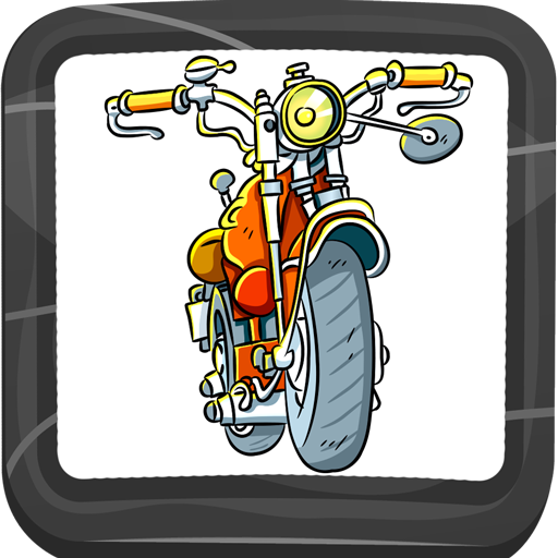 Motoren Malbuch (Cool Cruiser-bikes)