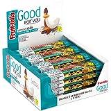 Fruittella Good For You Barrette Cocco e Fave di Cacao, con Mandorle e Semi di Chia, Barretta con Frutta Secca e Disidratata,
