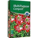 KEPLIN Multi-Purpose Compost Soil Contains Nutrients for Plants - Nutrient Rich Compost Mix for Potting, Growing Garden…