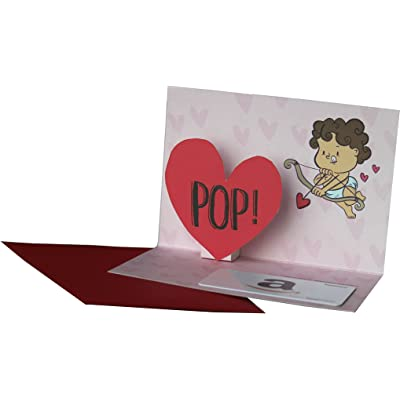 Heart pop greeting cards