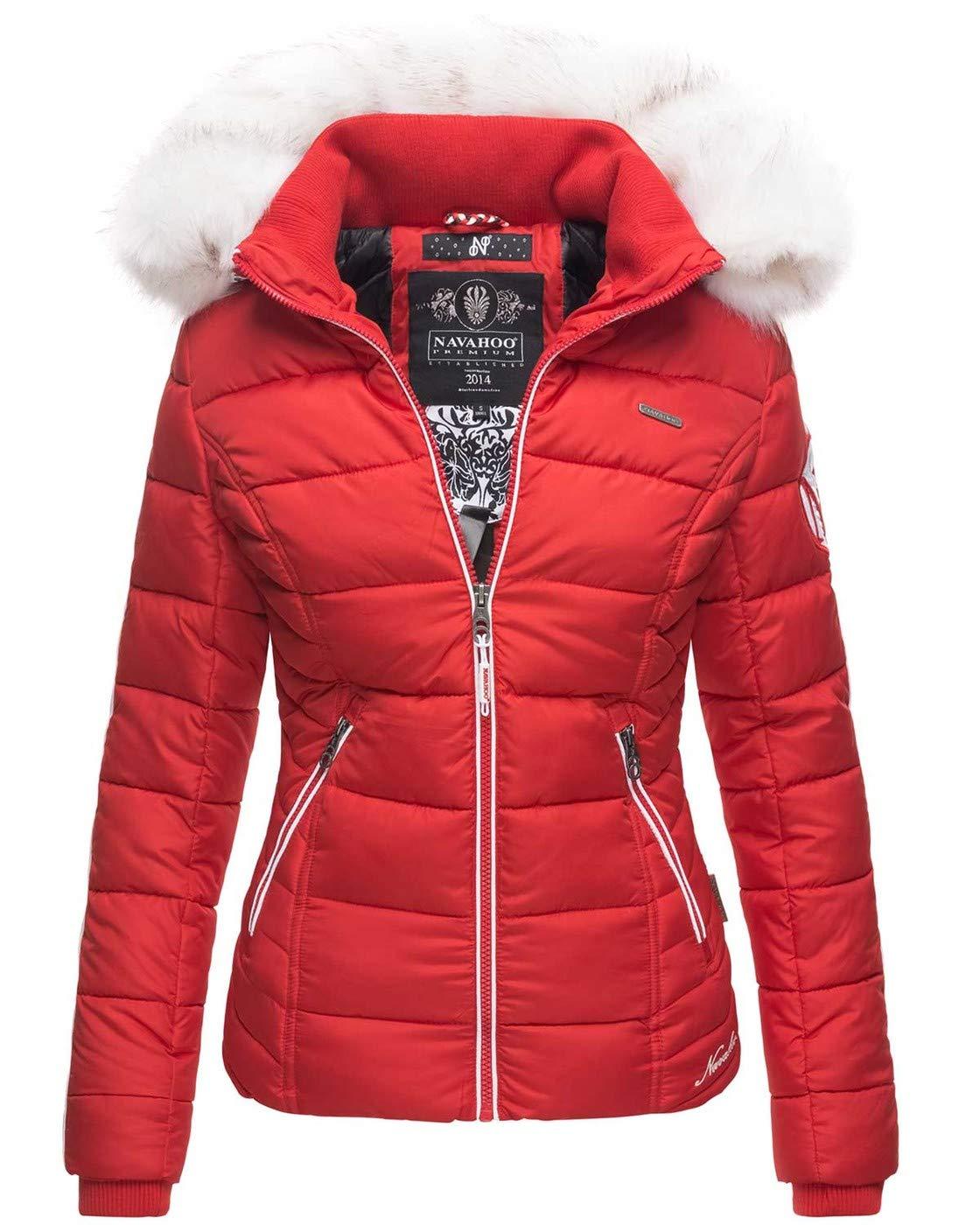 Navahoo warme Damen Winter Jacke Stepp Kurzjacke gefüttert B810