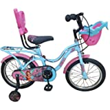 Hero Cycles 16 Kid's Cycles Fairy (Blue/Pink, Age 4 to 7 Year)