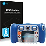 savvies Protection Ecran Compatible avec Vtech Kidizoom Duo 5.0 (6 Pièces) - Film Protection Ultra Clair
