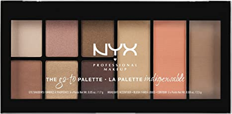 Nyx Professional Makeup Go To Palette, Wanderlust, 17.7g