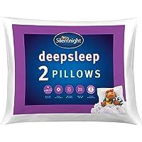Silentnight Deep Sleep Pillow Pack of 2 - Soft Hotel Bed Pillows 2 Pack Pillow Pair - Machine Washable Hollowfibre Sleep…