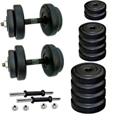 BODY MAXX PVC Dumbells Set, 20kg