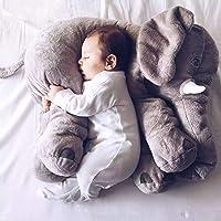 Oreiller pour le cou dessin animé grand éléphant en peluche jouet enfants dormir oreillers en peluche oreiller éléphant…