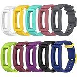 Tencloud Vervangende riemen compatibel met Fitbit Ace 2 riem, zachte siliconen flexibele polsbandjes armband voor Ace 2 Activ