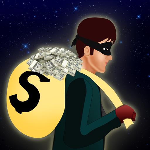 Alarmanlage Bank Dieb: das Geld sammeln verrückte Räuber - Gratis-Edition (Laufen Schmuck)