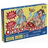 Hasbro Gaming - Juego de Mesa Operación (A4053175) (versión española/Portuguesa)