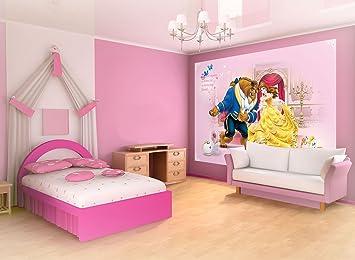 disney wallpaper for bedrooms. Disney Beauty and the Beast Wallpaper Mural  Amazon co uk DIY Tools