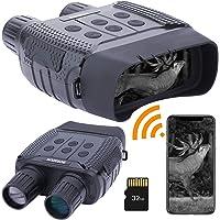 WiFi Lunettes de Vision Nocturne,Numérique Infrarouge Night Vision Jumelles HD Photo & Vidéo 960P, Lunettes de Nuit avec…