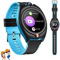 4G Orologio Intelligente Bambini, GPS Tracker Smartwatch Bambini Bambina con GPS Wifi SOS Videochiamata Pedometer 1.28…
